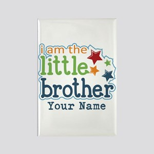 Little Brother - Personalized Rectangle Magnet