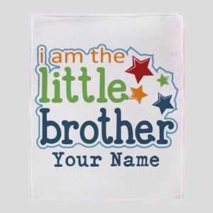 Little Brother - Personalized Throw Blanket
