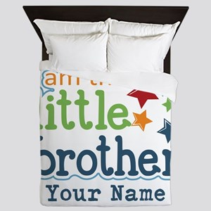 Little Brother - Personalized Queen Duvet