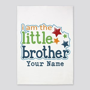 Little Brother - Personalized 5'x7'Area Rug