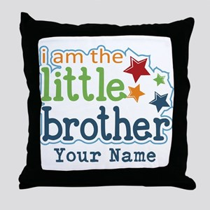 Little Brother - Personalized Throw Pillow