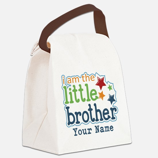 Little Brother - Personalized Canvas Lunch Bag