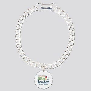 Little Brother - Personalized Charm Bracelet, One