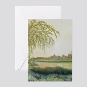 OLD FLORIDA VIEW Greeting Cards