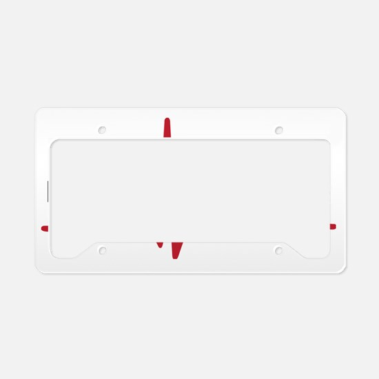 Emergency Medicine License Plate Holder