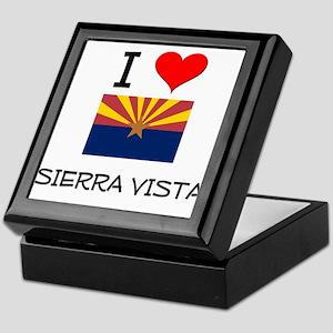 I Love Sierra Vista Arizona Keepsake Box
