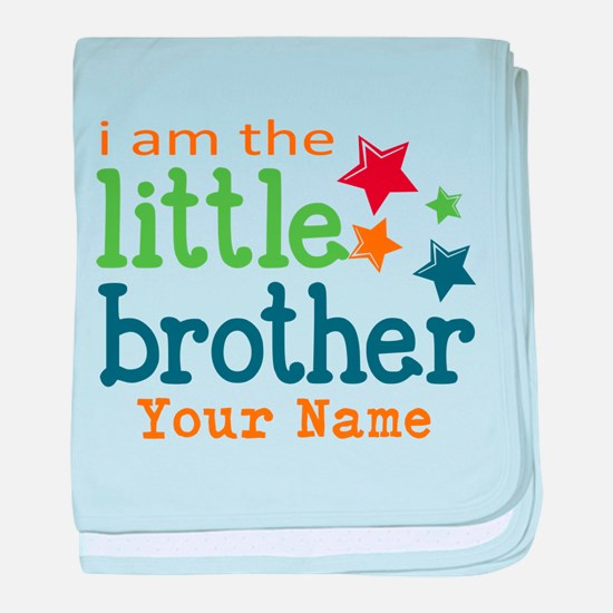 I am the Little Brother baby blanket