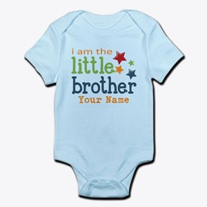 I am the Little Brother Infant Bodysuit