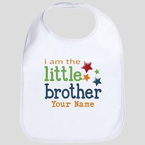 I am the Little Brother Bib