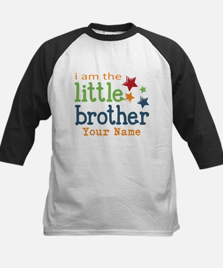 I am the Little Brother Kids Baseball Jersey