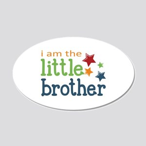 Little Brother 20x12 Oval Wall Decal