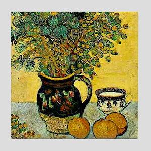 Van Gogh - Still Life Majolica Jug wi Tile Coaster