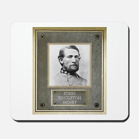 Bronze Plaque - John S. Mosby Mousepad
