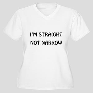 Straight Not Narrow Plus Size T-Shirt