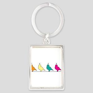 Bird Chorus Keychains