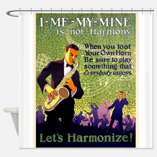 Music, Saxophone. Motivational, Vintage Poster Sho