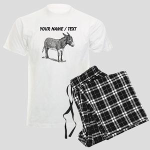 Custom Mule Sketch Pajamas