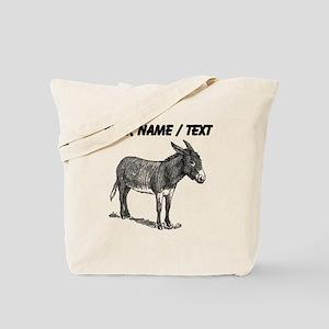 Custom Mule Sketch Tote Bag