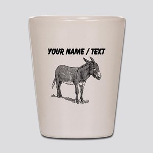 Custom Mule Sketch Shot Glass