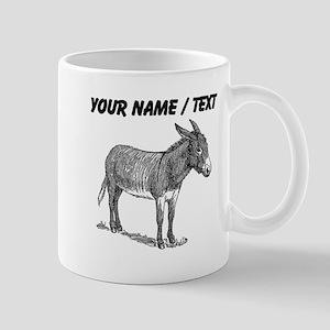 Custom Mule Sketch Mugs