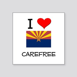 I Love Carefree Arizona Sticker
