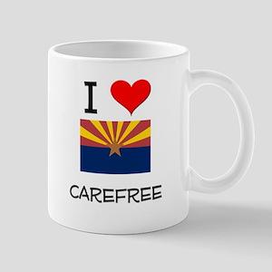 I Love Carefree Arizona Mugs