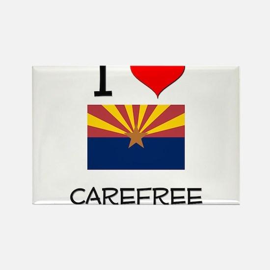 I Love Carefree Arizona Magnets