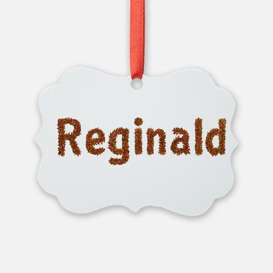 Reginald Fall Leaves Ornament