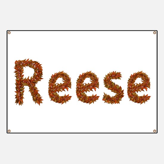 Reese Fall Leaves Banner