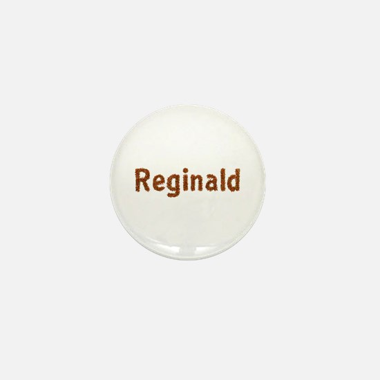 Reginald Fall Leaves Mini Button