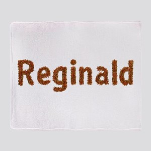 Reginald Fall Leaves Throw Blanket