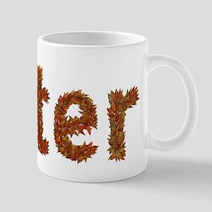 Peter Fall Leaves Mugs