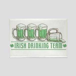 Irish Drinking Team Rectangle Magnet