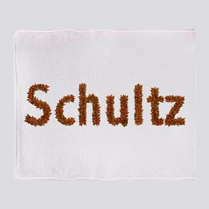 Schultz Fall Leaves Throw Blanket