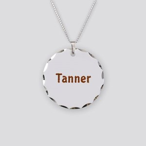 Tanner Fall Leaves Necklace Circle Charm