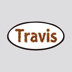 Travis Fall Leaves Patch