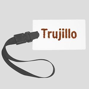 Trujillo Fall Leaves Large Luggage Tag