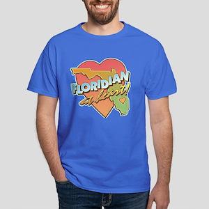 Floridian at Heart Dark T-Shirt