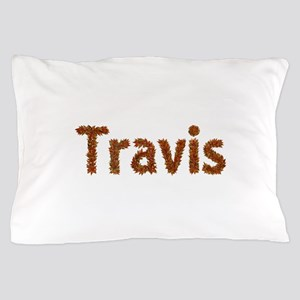 Travis Fall Leaves Pillow Case