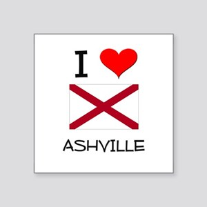 I Love Ashville Alabama Sticker