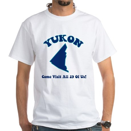 Yukon White T-Shirt