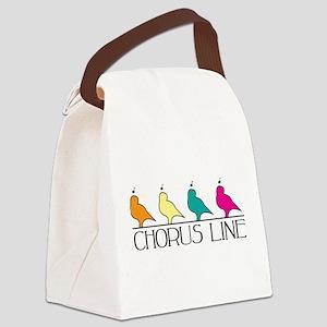 Chorus Line Canvas Lunch Bag