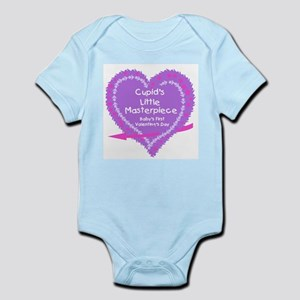 Cupid Masterpiece 1st V-Day(purple) Infant Creeper