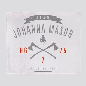 Team Johanna Mason Throw Blanket