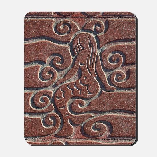 Terra Cota Tile Art Realism  Mousepad