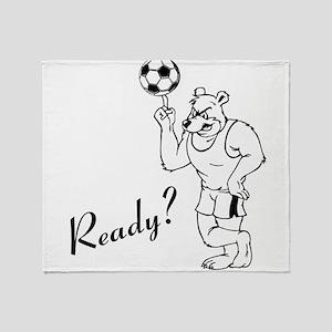 Ready? Throw Blanket