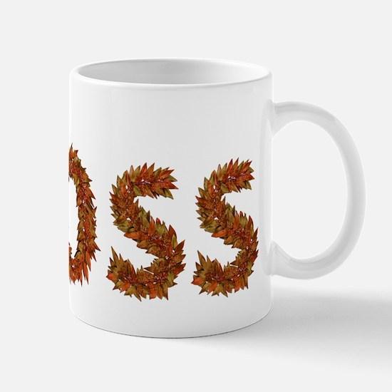 Moss Fall Leaves Mugs