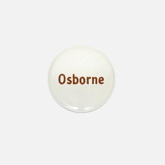 Osborne Fall Leaves Mini Button