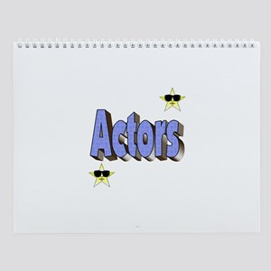 Wall Calendar for Actors