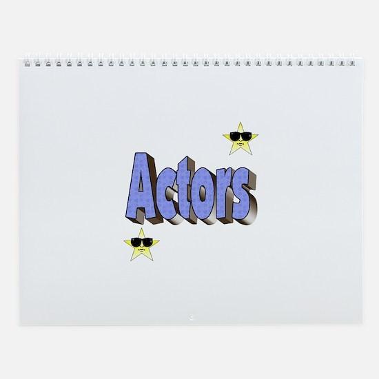 Wall Calendar for Actors